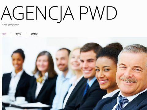Rzetelna agencja pracy PWD