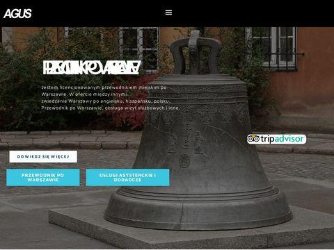 Przewodnik po Warszawie AGUS