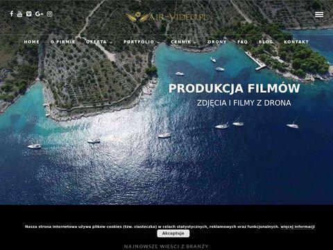 Filmowanie z powietrza - Filmy zdjÄ™cia z lotu ptaka, Air-Video.pl