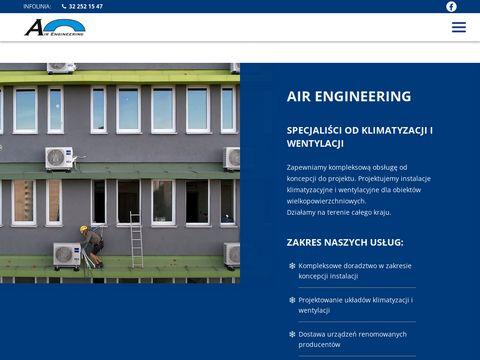 AIR ENGINEERING Klimatyzacja Krak贸w