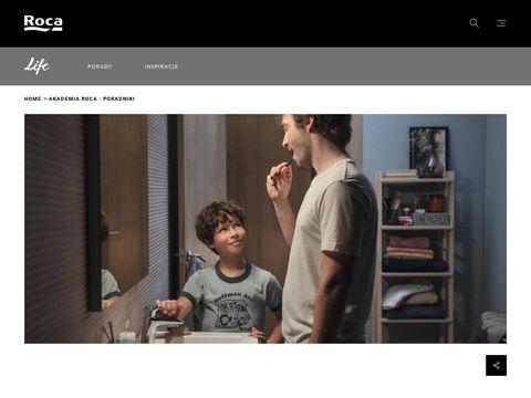 Akademia ROCA miejsce 艂azienkowych inspiracji.