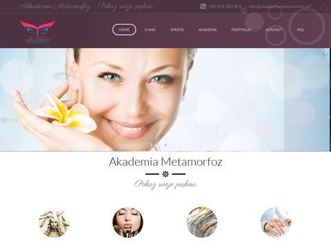 Akademia Metamorfoz - kurs makijażu Warszawa, metamorfozy