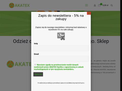 Sklep internetowy ratownictwo medyczne - akatex.pl