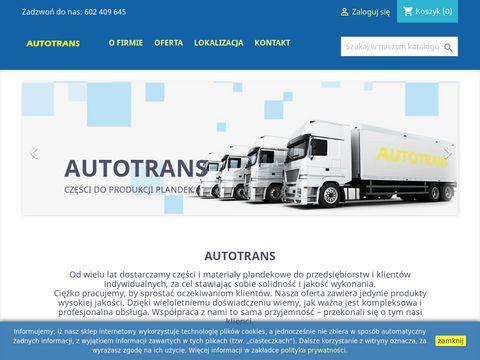 Autotrans - dostawca materiałów plandekowych