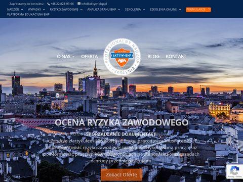 Aktyw BHP - Szkolenia BHP Warszawa