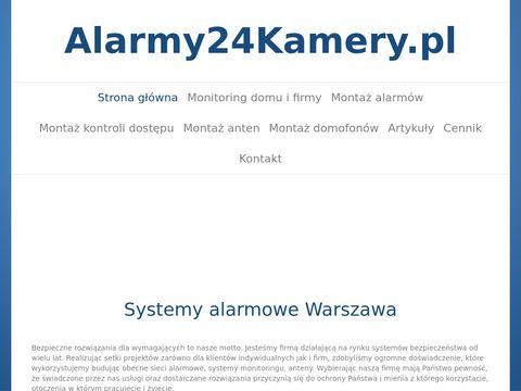 Monta偶 kamer Warszawa