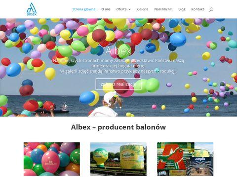 Kubki reklamowe - Albex
