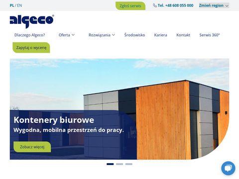 Kontenery warsztatowe wynajem - algeco.pl