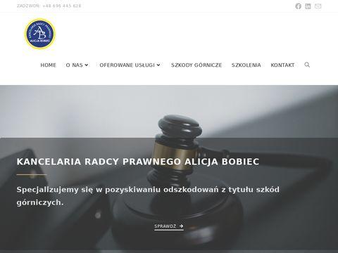 Adwokat i Radca Prawny Alicja Bobiec