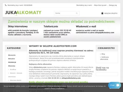 Sklep internetowy Alkotestery.com