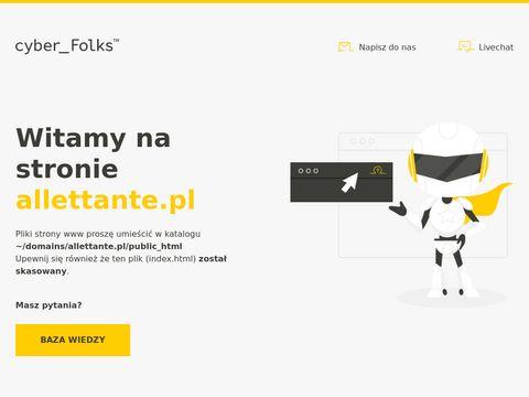 Bielizna damska - allettante.pl