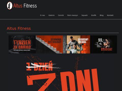 Www.altusfitness.pl Największa siłownia