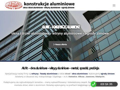 Okna, drzwi, fasady aluminiowe - Katowice, OÅ›wiÄ™cim | Aluhit