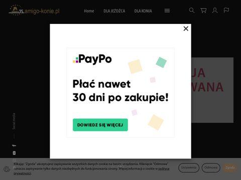 Amigo-konie.pl akcesoria jeździeckie