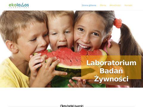 Analiza żywności - analizazywnosci.pl