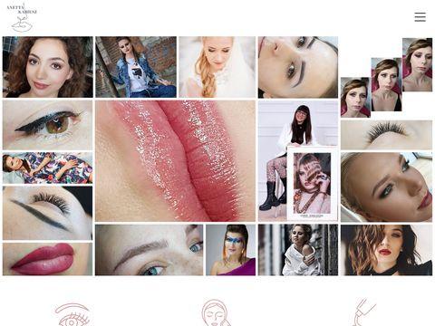 Mobilny salon kosmetyczny Anetta