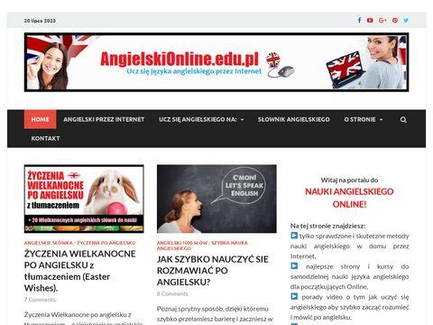 ANGIELSKI ONLINE - Szybka nauka angielskiego przez Internet