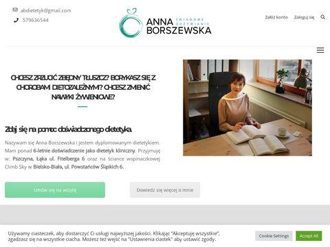 Anna Borszewska - Centrum Dietetyki Pszczyna