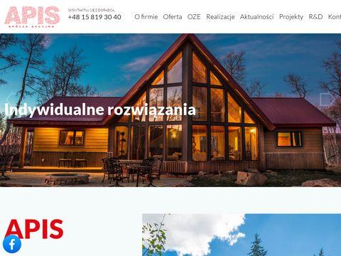 APIS domy z drewna