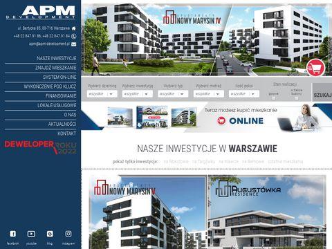 Warszawa deweloperzy - grupa APM Development