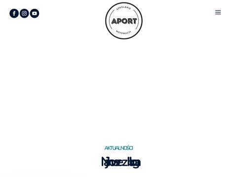 Szkolenie owczarków niemieckich - APORT Białystok
