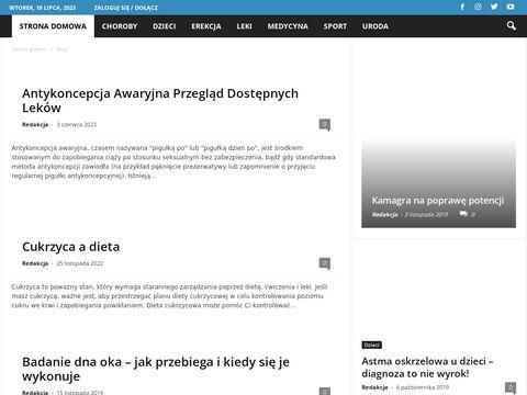 Aptekamezczyzny.pl - 艣rodki na potencj臋