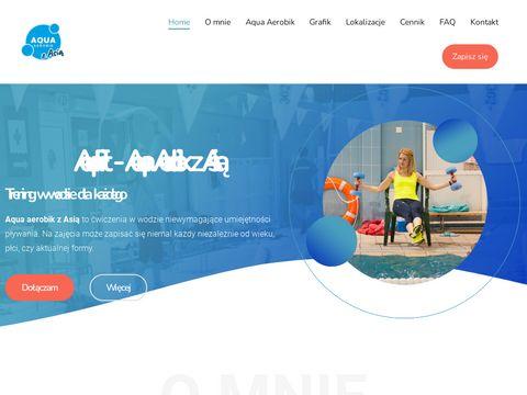 Aqua Aerobik E-Team z nami poprawisz kondycj臋 i zgubisz kilogramy.