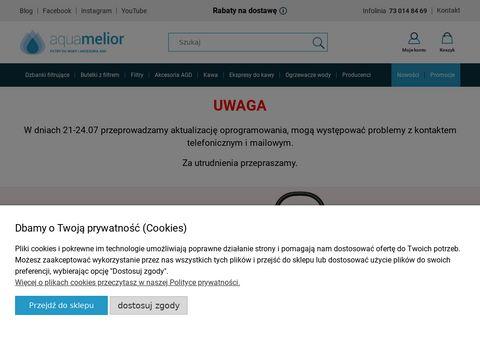 Dzbanki filtruj膮ce - aquamelior.pl