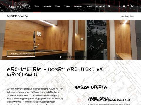 Projekty budowlane - Archimetria.pl