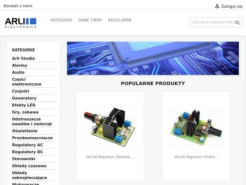 Sklep internetowy Arli Electronics
