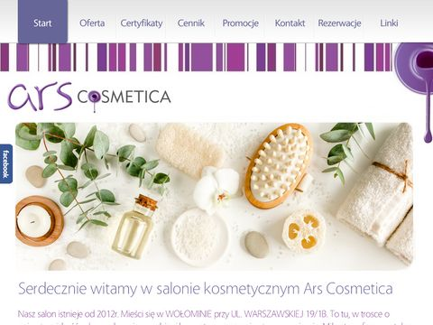 Gabinet kosmetyczny ARS COSMETICA w Wołominie