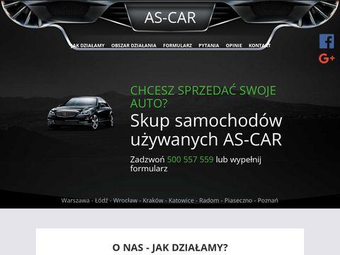 AUTO-HANDEL AS-CAR skup aut Wroc艂aw