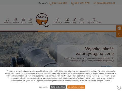 AS-EKO Naprawa kanalizacji