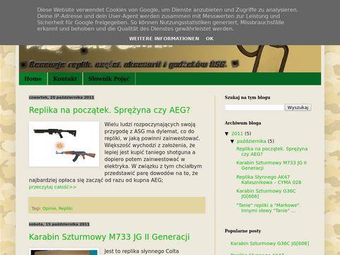 ASGunscenter - Opinie, opisy replik ASG i nie tylko