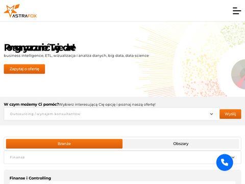 Wdrożenia Business Intelligence - astrafox.pl