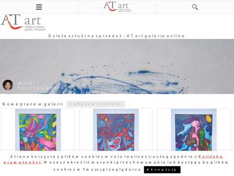 Galeria sztuki wsp贸艂czesnej w Kaniach AT art