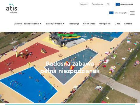 Wodne place zabaw - Atis Jasienica