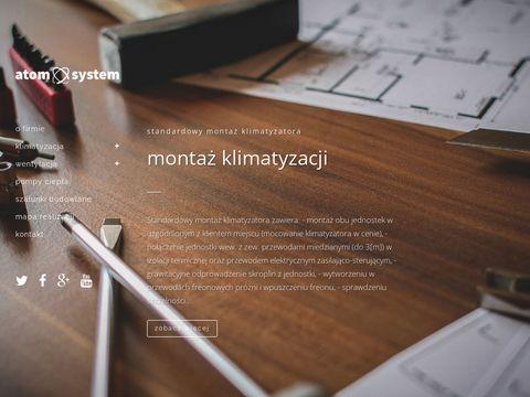ATOM SYSTEM Klimatyzacja Rekuperacja Olsztyn Ostróda Bartoszyce