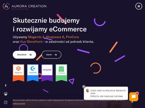 Aurora Creation : Sklep Internetowy Magento
