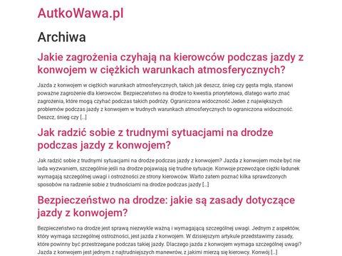Serwis klimatyzacji samochodowej - Autkowawa - Mokotów, Ursynów