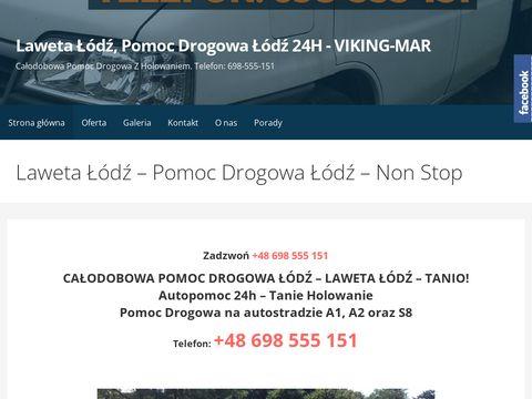 Auto-Laweta-Lodz.pl - Laweta Łódź - Pomoc Drogowa Łódź