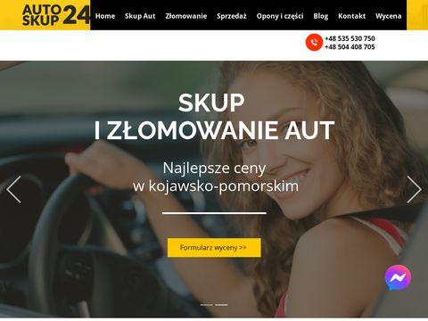 Skup aut Bydgoszcz, Toru艅 - sprzeda偶, komis, kasacja pojazd贸w kujawsko-pomorskie - auto-skup24.com
