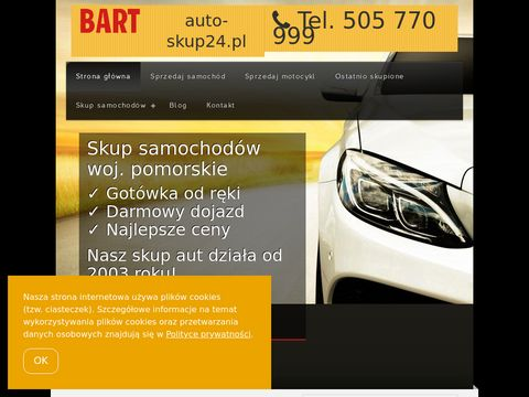 Skup aut za Got贸wk臋 tel. 505 770 999 Gdynia, Gda艅sk, Tr贸jmiasto, Pomorskie