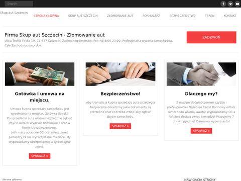 Skup aut Szczecin - ZÅ'omowanie auto-skupszczecin.pl
