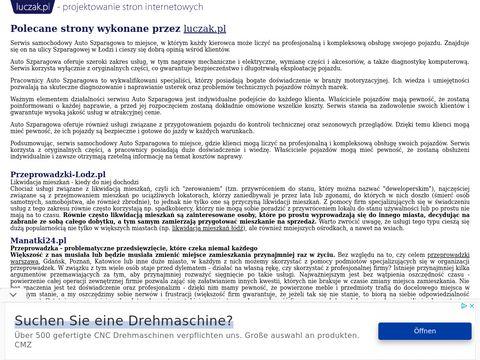 AUTO SZPARAGOWA mechanik Mazda �ódź