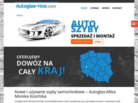 AUTOGLAS-MIKA Nowe szyby samochodowe Wroc艂aw