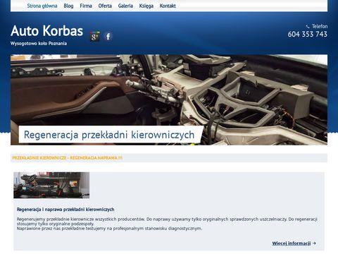 Auto Korbas - naprawa auta Pozna艅