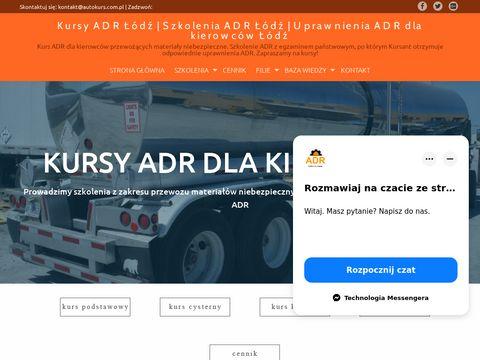 Uprawnienia ADR dla kierowc贸w 艁贸d藕