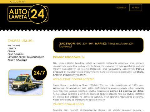 Pomoc drogowa kraków - Autolaweta24-krakow.pl