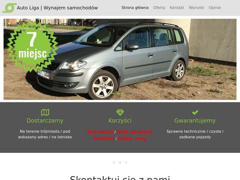 Wynajem samochod贸w osobowych Tr贸jmiasto - autoliga24.pl
